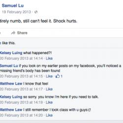 Samuel Lu, Kelsey Luing, Matthew Law